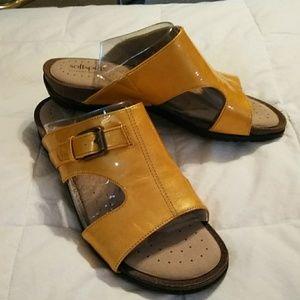 Softspots Yellow Sandals